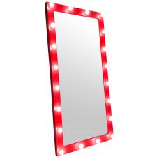 Зеркало стилиста, 200*100, красное